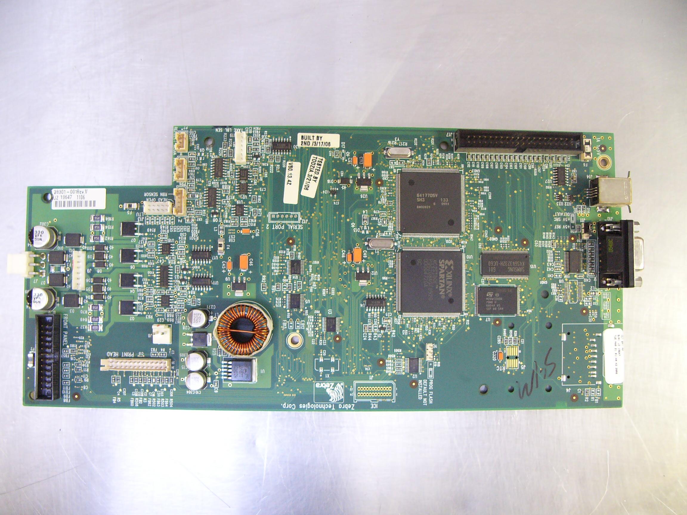 28301-001 -  - 28301-001, 4MB Main Logic Board, S4M