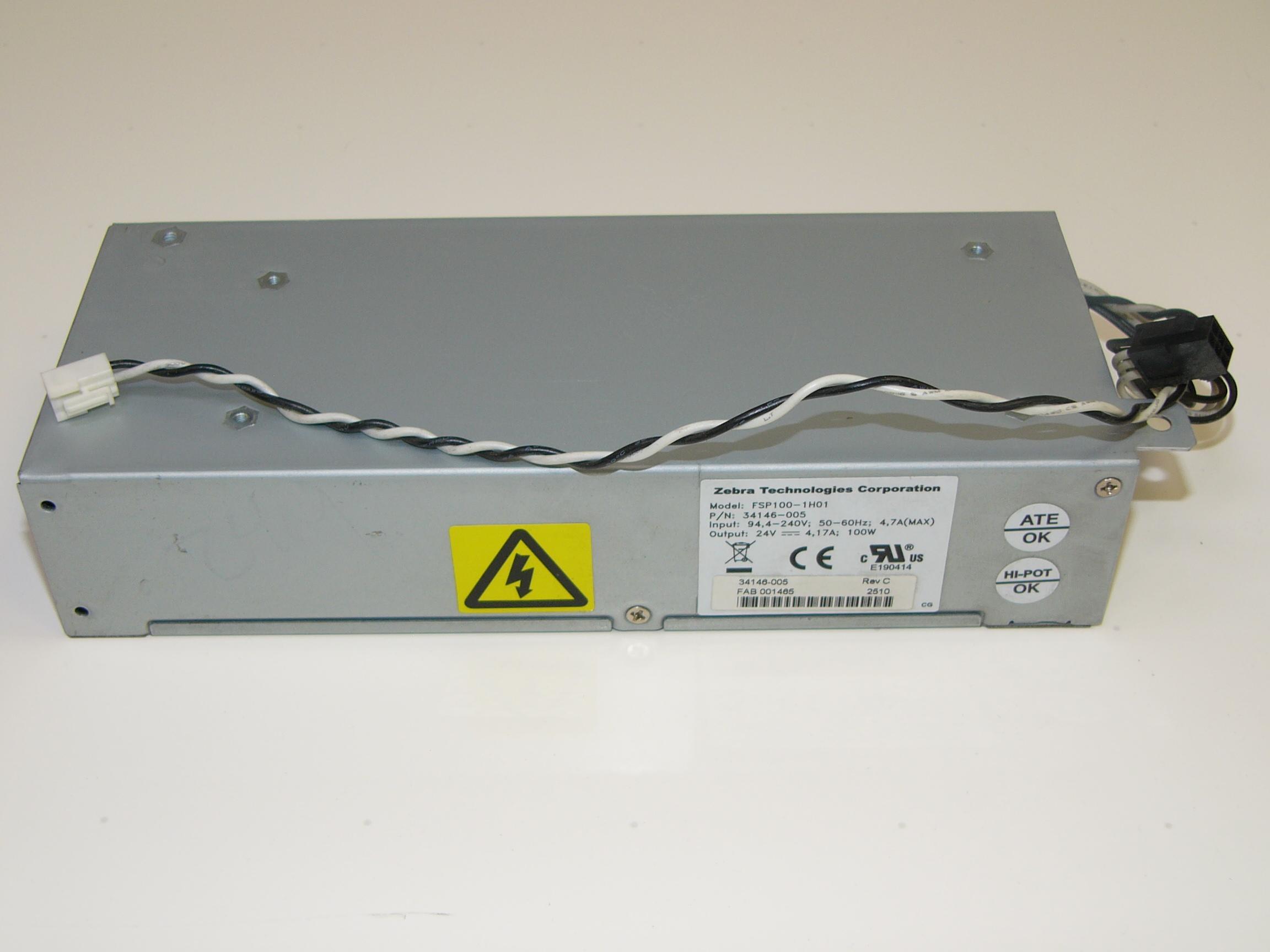 FSP100-1H01 -  - FSP100-1H01, Zebra S4M, Power Supply