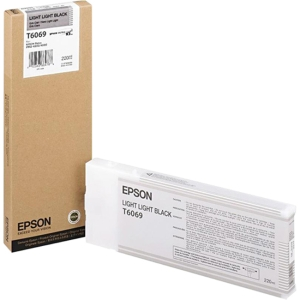 T606900 - N27833 - Epson Light Light Black Ink Cartridge - Light Light Black - Inkjet - 1 Each
