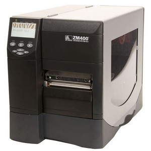ZM400-3011-1100T - Q18311 - Zebra ZM400 Thermal Label Printer - Monochrome - 8 in/s Mono - 300 dpi - Serial, Parallel, USB - Fast Ethernet