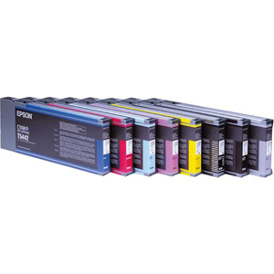 T544400 - 902708 - Epson Yellow Ink Cartridge - Yellow - Inkjet - 3800 Page - 1 Pack