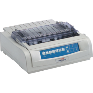 91913106 - VQ9442 - Oki MICROLINE 420 Dot Matrix Printer - 9-pin - 570 cps Mono - 240 x 216 dpi - Serial, Parallel, USB - PC