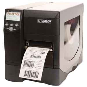 ZM400-6001-5000T - TG5766 - Zebra ZM400 Thermal Label Printer - Monochrome - 4 in/s Mono - 600 dpi - Serial, Parallel, USB
