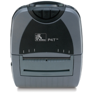 P4D-0UJ00000-00 - PQ6573 - Zebra P4T Thermal Transfer Printer - Monochrome - Portable - Label Print - 4.09