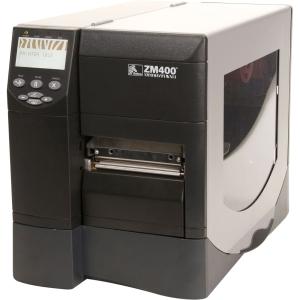 ZM400-2001-4700T - LJ9115 - Zebra ZM400 Direct Thermal/Thermal Transfer Printer - Monochrome - Desktop - Label Print - 4.09