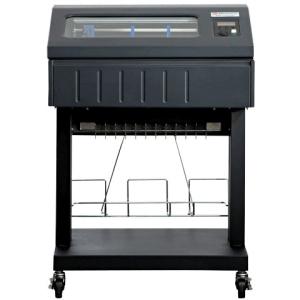 P6810-0102-000 - RT3017 - TallyGenicom 6810 1000LPM Open Pedestal Line Printer – TG Std Emulations – Ser/USB/Par – Built-In Low Tray