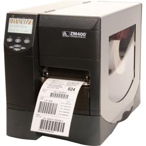 ZM400-2001-4600T - RT4267 - Zebra ZM400 Direct Thermal/Thermal Transfer Printer - Monochrome - Desktop - Label Print - 4.09