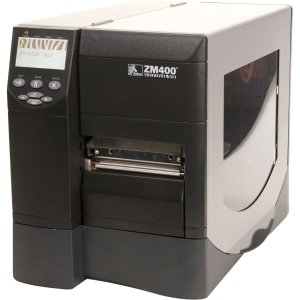 ZM400-3001-5600T - TG7581 - Zebra ZM400 Direct Thermal/Thermal Transfer Printer - Monochrome - Desktop - Label Print - 4.09