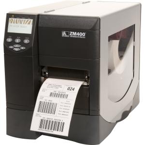 ZM400-6001-4100T - TG8088 - Zebra ZM400 Direct Thermal/Thermal Transfer Printer - Monochrome - Desktop - Label Print - 4.09