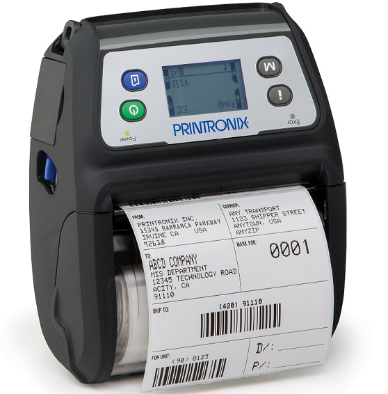 M4LWG-00 -  - Printronix M4L Mobile Thermal Printer, M4LWG-00