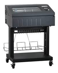 P6810-0102-000 -  - TallyGenicom 6810 1000LPM Open Pedestal Line Printer – TG Std Emulations – Ser/USB/Par – Built-In Low Tray