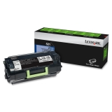 52D1000 - QQ0444 - Lexmark 521 Return Program Toner Cartridge - Black - Laser - 6000 Page - 1 Each