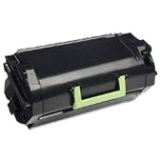 52D1H0L - QY8418 - Lexmark 521HL Toner Cartridge - Black - Laser - High Yield - 25000 Label