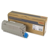 45396212 - RV8035 - Oki Black Toner Cartridge - 15000 Pages - Black - LED - 15000 Page - 1 Pack