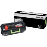 52D0XAL - XU9875 - Lexmark 520XAL Toner Cartridge - Black - Laser - Extra High Yield - 45000 Page