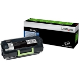 52D0HAL - VQ1623 - Lexmark 520HAL Toner Cartridge - Black - Laser - High Yield - 25000 Page