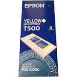 T500011 - J04191 - Epson Yellow Ink Cartridge - Inkjet - Yellow