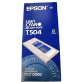 T504011 - J04195 - Epson Light Cyan Photographic Dye Ink Cartridge - Inkjet - Light Cyan