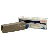 43324403 - F83377 - Oki Cyan Toner Cartridge - Cyan - LED - 5000 Page - 1 Each