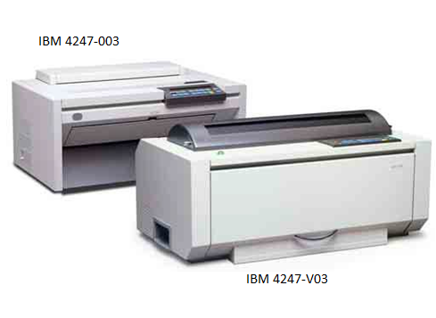4247-V03 -  - IBM InfoPrint 4247-V03 Matrix Impact Printer 1100 cps