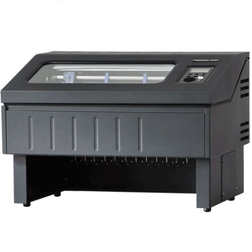 P8T05-1161-010 -  - Printronix P8005 Tabletop 500LPM Line Printer – VGL/PGL/LP+/LG – Serial/USB/Ethernet – QCMC w/MAC Swapper