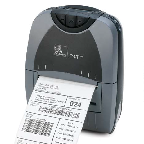 Zebra P4T Mobile Thermal Printers