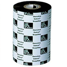 05555BK11045 -  - Zebra 5555 Wax-Resin Ribbon, 4.33 in X 1476 ft, Black, 6 Ribbon/Case