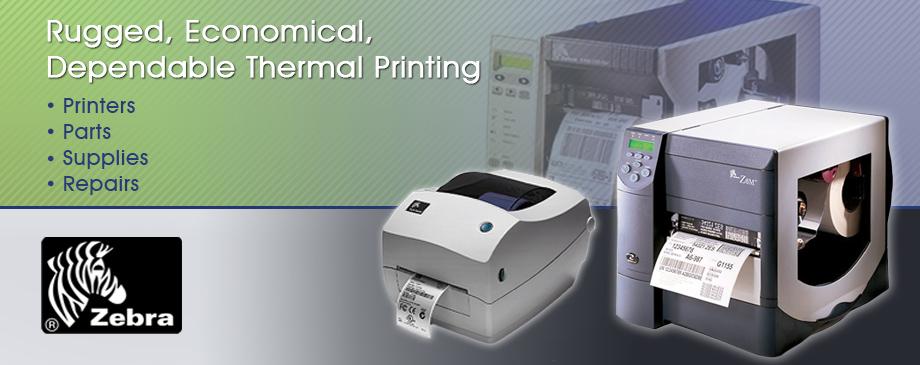 Zebra Thermal Printers & Zebra Spare Parts